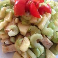 Orientalischer Hähnchensalat