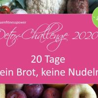 Detox-Challenge 2020 - bist Du dabei?!